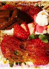 ●クリスマスケーキ*ドーム&飴細工*●