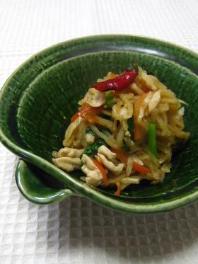 鶏ささみと切干し大根の中華煮