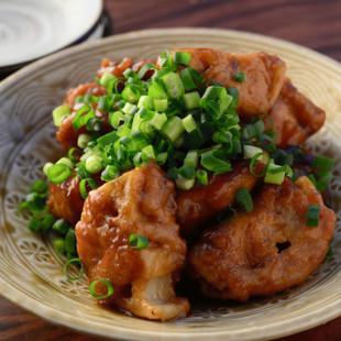 肉巻きレンコンの黒酢煮