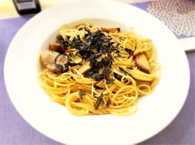 牡蠣と茸アヒージョ☆リメイク和風パスタ