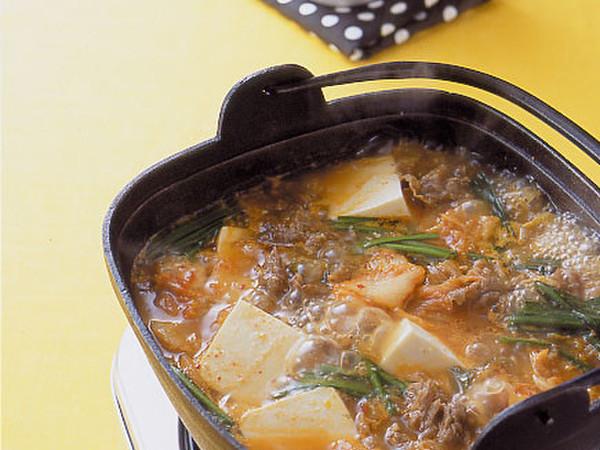 豆腐の韓国風鍋