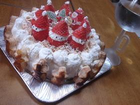 ミルフィーユ風ムースケーキ