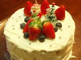 ヘルシークリスマスケーキ