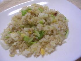 白菜と梅昆布茶のさっぱり炒飯