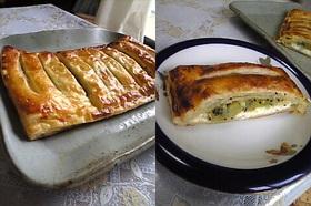 キウイとクリームチーズのパイ