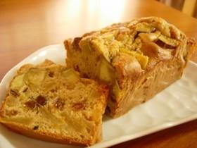 リンゴとサツマイモの簡単ケーキ