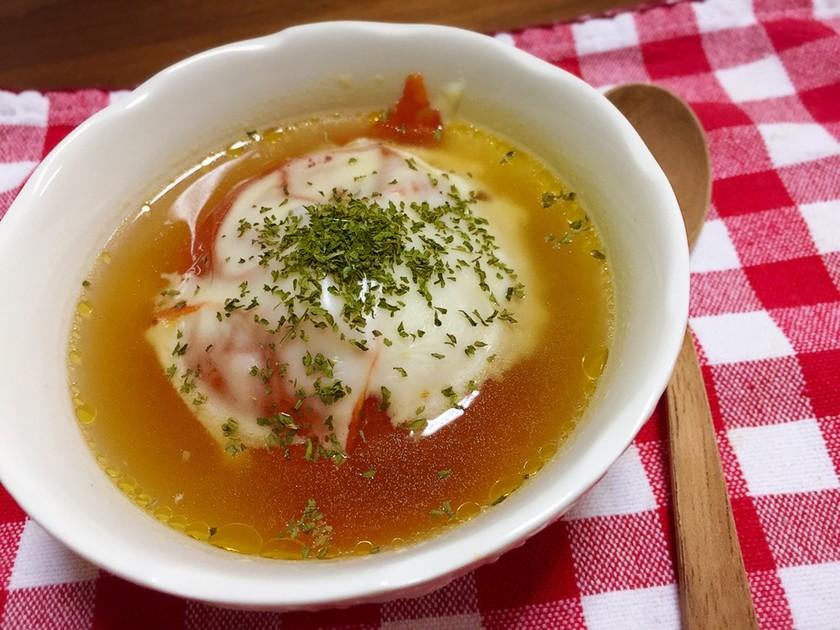 ほっかほか♡トマトまるごとスープ♡