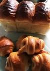 イギリス食パン+ソーセージロール