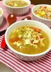 簡単!トマトレタスの中華スープ☆紅茶風味