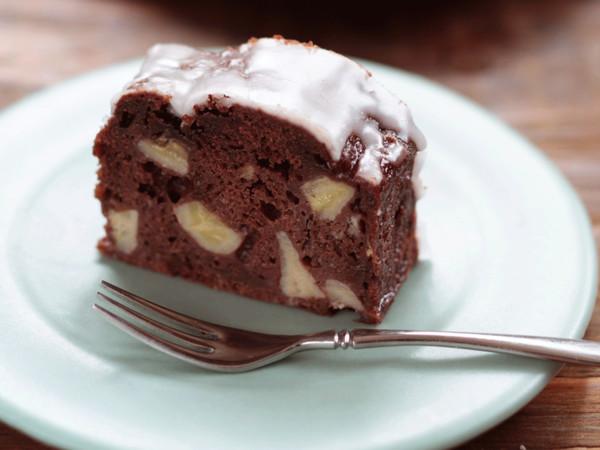 チョコバナナパウンドケーキ