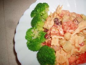 マカロニ&豆サラダ