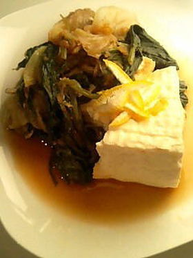 牡蠣の韓風土鍋すき