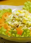 ドレッシングで簡単★コールスローサラダ