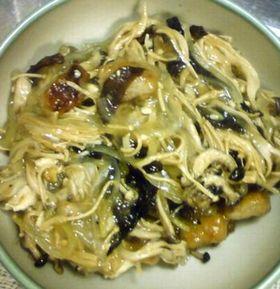 重ね煮で玉葱のとろとろあんかけ(ベジ)