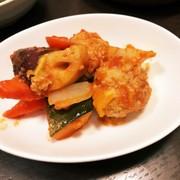 高血圧対策☆根菜いっぱい酢豚の写真