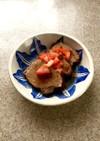 紅茶 煮豚とトマトのオニオンソースがけ☆
