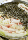 塩こんぶで作る!白菜&豚肉ミルフィーユ鍋