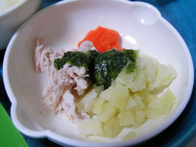 《離乳食+》磯の香ソース お粥やお野菜と