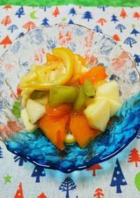 柚子の香り✨爽やか果物の蜂蜜漬け