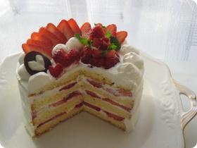 いちごのLOVEケーキ♡