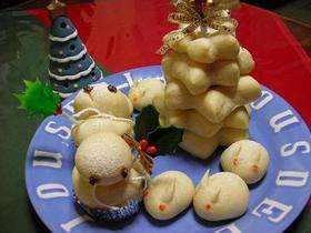 クリスマスツリーパン&仲間たちパン