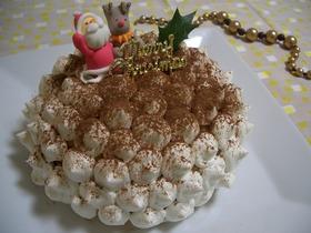 クリスマスケーキ★ズコット