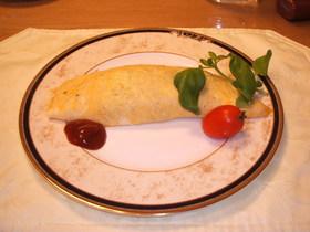 ヒレステーキのオムライス