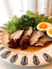 豚肉の紅茶煮♪バルサミコとトマトのソースの写真
