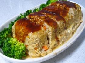 豆腐入りふわふわミートロール