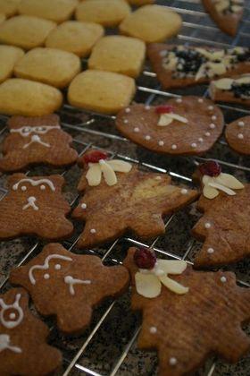 中力粉+スターチでホロホロのクッキー