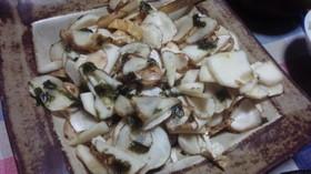 菊芋のノリわさび和え