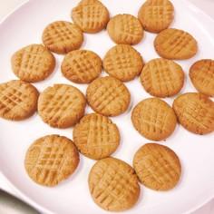 超簡単!ピーナツバタークッキー