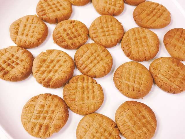ピーナッツ バター クッキー