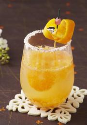 オレンジジンジャーカクテルの写真