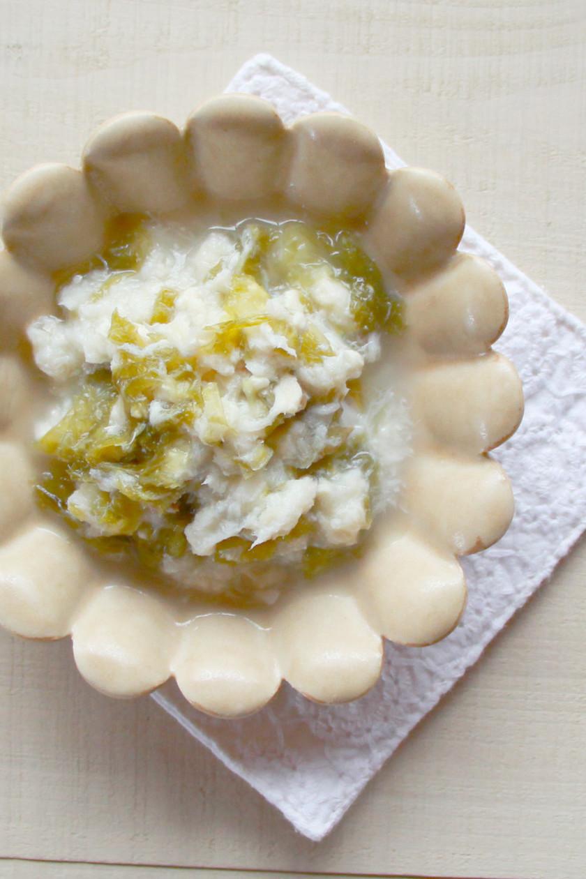 【離乳食中期】魚と豆腐のあおさ煮