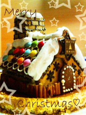クリスマス☆初めての、お菓子の家。
