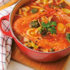 ブイヤベース風トマト鍋