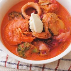 ボルシチ風スープ