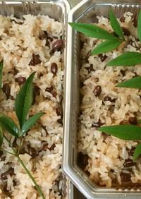 蒸し器で作る赤飯(土井善晴先生流レシピ)