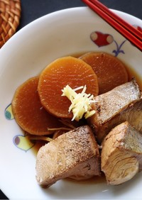 フライパンで簡単ブリのアラ煮☆