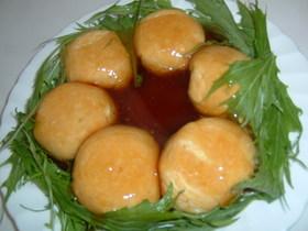 明太豆腐の卵寄せ☆リース風