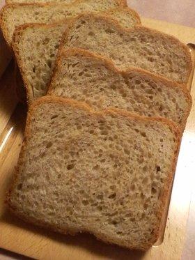 HBで♪黒糖コーヒー食パン