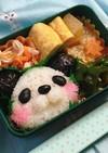 ほっぺたピンクのパンダちゃん弁当