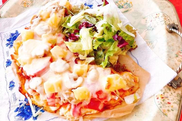 作り ピザ 生地 【ピザ生地の簡単レシピ】休日にイタリア風ピザを子どもと作ろう!