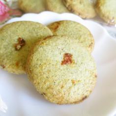 紅茶とドライトマトのクッキー
