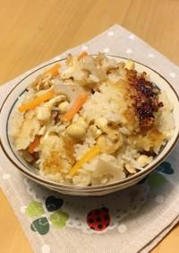 蓮根⭐ツナ⭐大豆で✤生姜香る炊き込みご飯