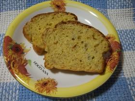 バナナキャラメルパウンドケーキ♪