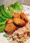 米油でお魚竜田揚げと玄米雑穀ご飯☆お弁当