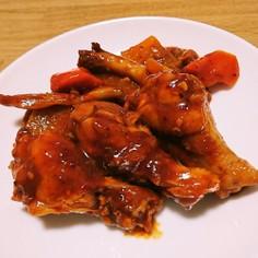 甘辛旨いっ✨鶏手羽元の韓国風煮込み✨