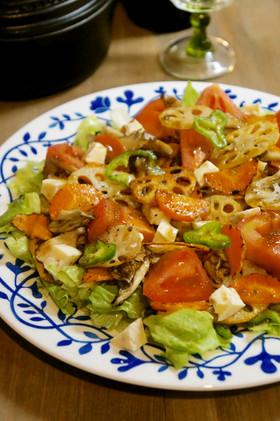 焼き野菜&生野菜*ミックスサラダ